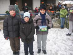 Předsilvestrovský běh do Brynďáku - prosinec 2007