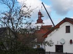 Oprava kostelní věže